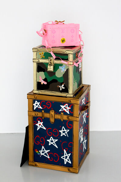 Libby Black, 'California Love Stacked Luggage', 2018