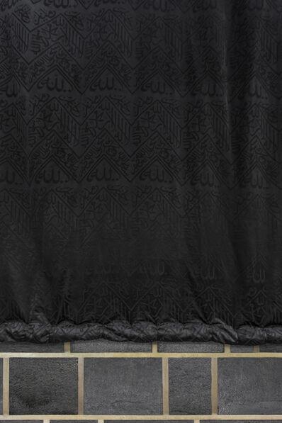 Adel AlQuraishi, 'Curtains of the Kaaba I', 2017