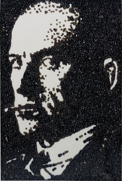 Vik Muniz, 'Maiakowskij, after Rodchenko (Pictures of Caviar)', 2004
