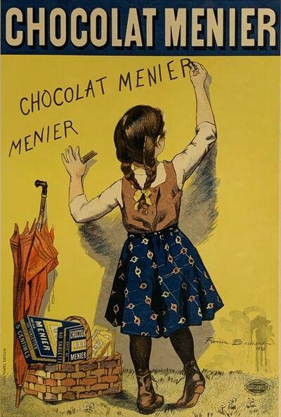 """Firmin Bouisset, 'Affiche pour le """"Chocolat Menier"""", printed in 1892 by Imprimerie Camis et Cie, Paris, ', November 1896"""