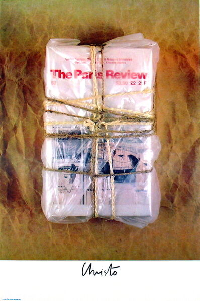 Christo, 'Wrapped Paris Review', 1982