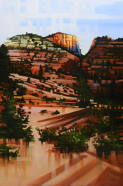 Michelle Condrat, 'Eastside Slopes, Zion National Park', 2015