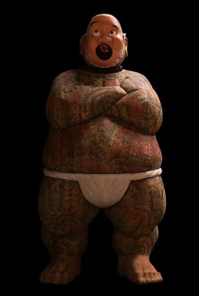 Takeshi HAGURI, 'Otokogi (Chivalry) (Hyottoko (Clownish mask))', 2018