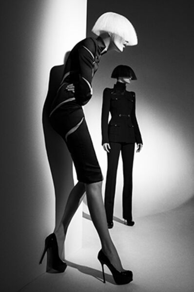 Patrick Demarchelier, 'Mariacarla and Anja Rubik, Italian Vogue', 2008