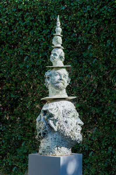 Robert Arneson, 'Poised to Infinity', 1991