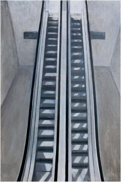 José Manuel Ballester, 'Reflejos sobre la escalers', 2014