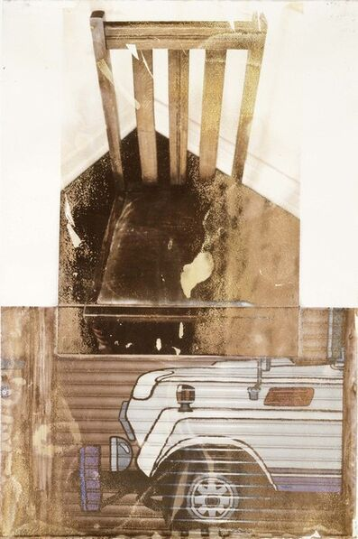Robert Rauschenberg, 'Pleasure Loathe (Waterworks)', 1994