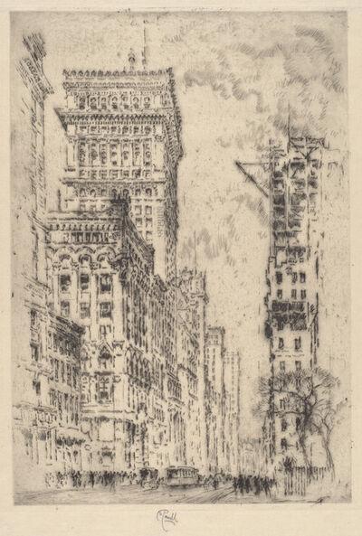 Joseph Pennell, 'The Golden Cornice, I', 1904
