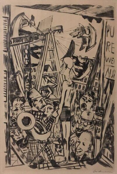 Max Beckmann, 'Der grosse Mann (The Tall Man)', 1921