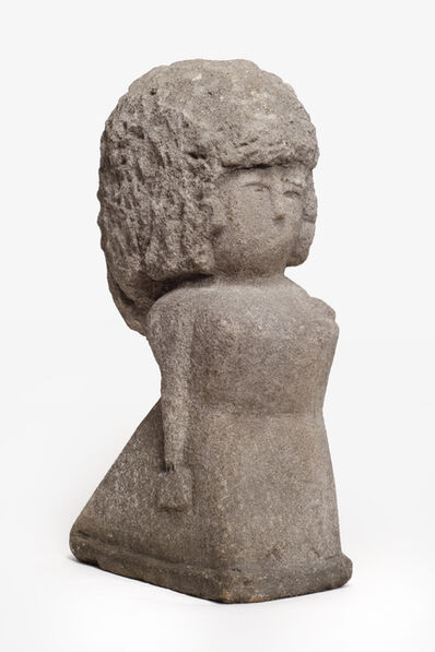 William Edmondson, 'Untitled (woman with purse)', ca. 1940