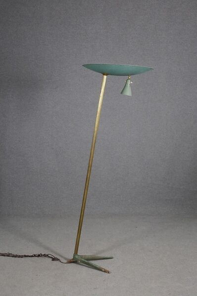 Studio BBPR, 'Floor Lamp Midcentury Attributed to BBPR Studio in Brass and Iron, 1940s', 1940-1949