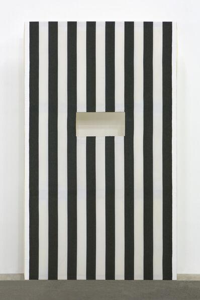 """Daniel Buren, 'Panneaux avec découpes série """"Corridorscope"""", n°A39', 1983"""