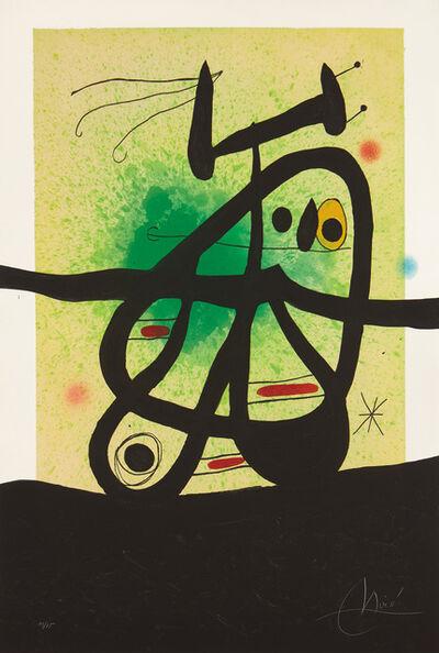 Joan Miró, 'L'Oiseau Mongol (Mongolian Bird) (D. 513)', 1969
