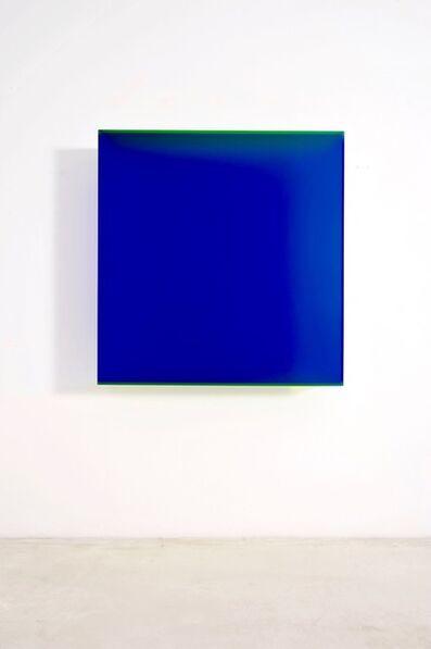 Regine Schumann, 'Color Satin Blue Barcelona', 2018