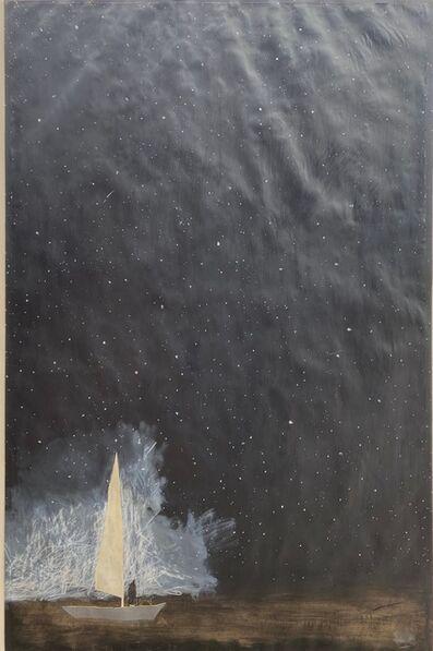 Gigi Mills, 'Night Sail/Wave and Yellow', 2020
