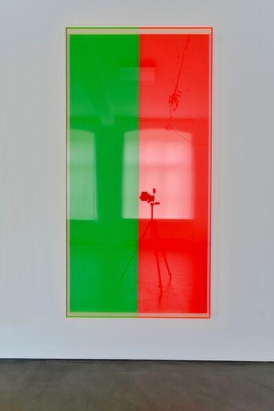 Regine Schumann, 'colormirror green red bonn', 2019