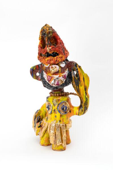 Ramesh Mario Nithiyendran, 'Monkey with red mask', 2019