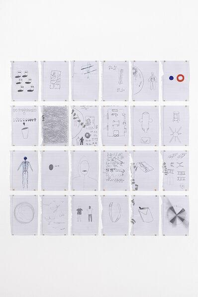 Sara Bichão, 'Sol souple (drawings)', 2019