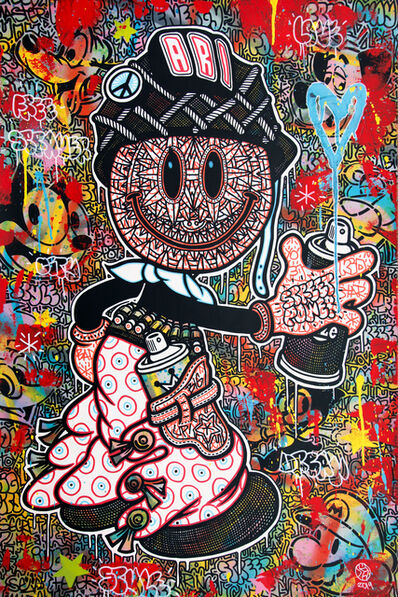 Speedy Graphito, 'Street power', 2019