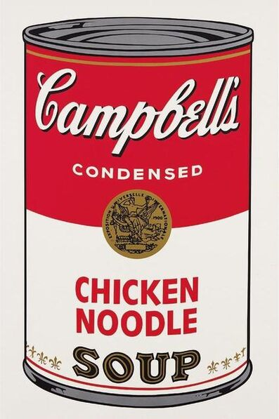 Andy Warhol, 'Campbell's Soup Chicken Noodle ', 1968