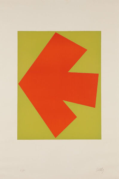 Ellsworth Kelly, 'Orange over Green (Orange sur Vert), from the Suite of Twenty-Seven Color Lithographs', 1964-1965