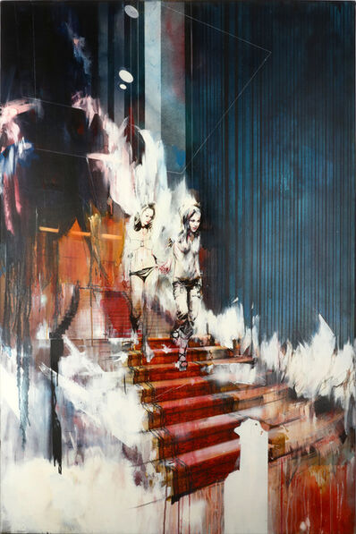 Ian Francis, 'Two People Arrive In The Lobby With Perfect Hair And Makeup', 2008