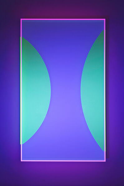 Regine Schumann, 'Colormirror Glow After Moons No.1', 2020
