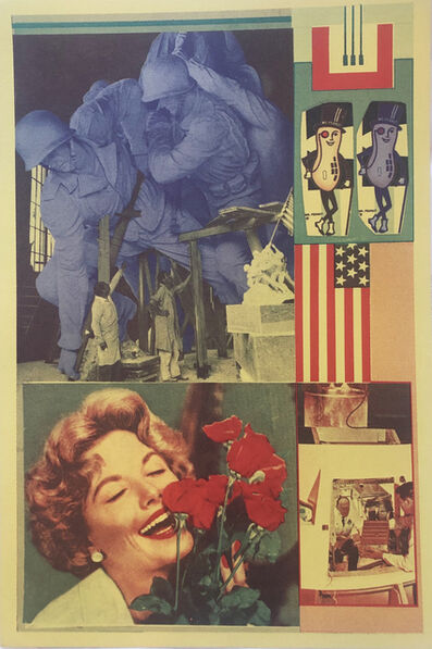 Eduardo Paolozzi, 'Decency and Decorum in Production from General Dynamic F.U.N, 1965-1970', 1970