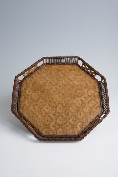 Iizuka Shōkansai, 'Bamboo Tea Tray (T-3023)', Showa era (1926, 89), ca. 1980's