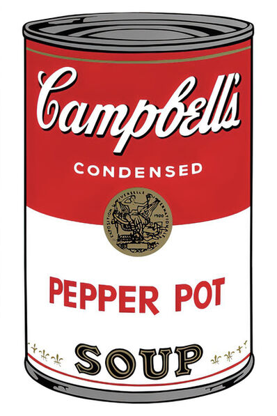 Andy Warhol, 'Campbell's Soup Can 11.51 (Pepper Pot)', 1960s printed after
