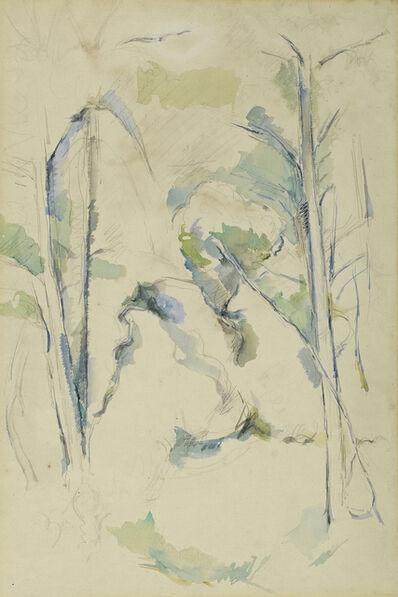 Paul Cézanne, 'Sous-bois', ca. 1895