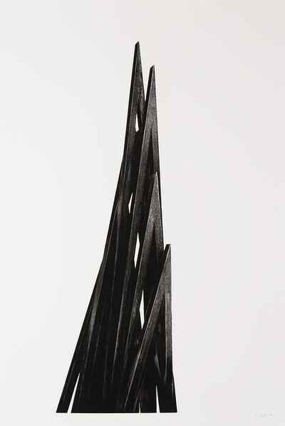 Bernar Venet, 'Acute Unequal Angles', 2017