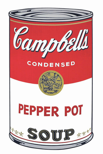 Andy Warhol, 'Campbell's Soup I (Pepper Pot)', 1968