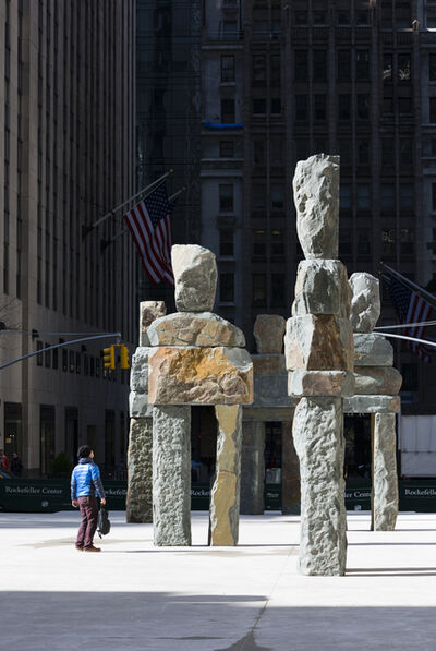 Ugo Rondinone, 'Ugo Rondinone: Human Nature', On view at Rockefeller Center, New York City, April 23 , June 7, 2013