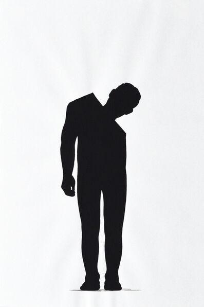 """Stefan Lausch, 'Zeichnungen aus der Reihe """"Schlemihls Schatten""""', 2008"""