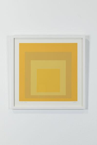 Josef Albers, 'JKS, 118/125', 1970