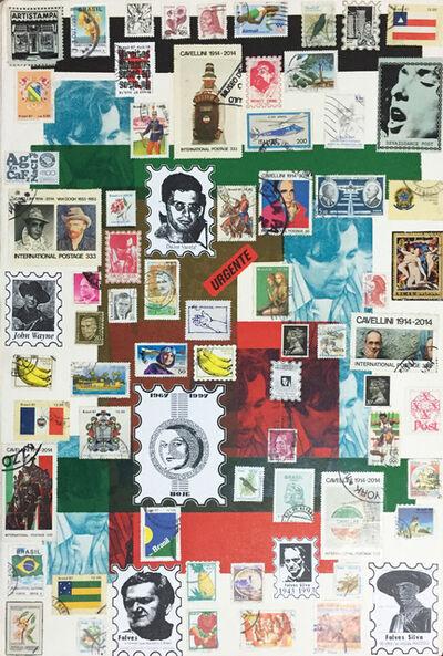 Falves Silva, 'Artist's stamps VII, from the series 'Postal Art'', 1998