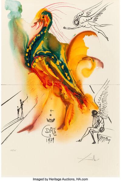 Salvador Dalí, 'Le grand pavon', 1996