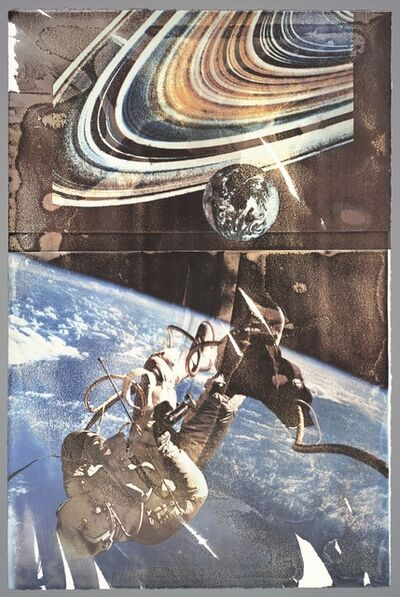 Robert Rauschenberg, 'Space (Tribute 21)', 1994