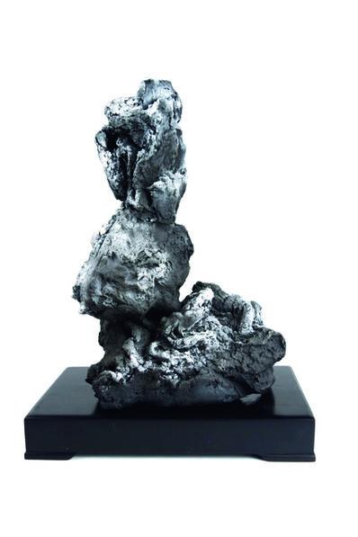 Zhao Meng 趙夢, 'Alphabet Rocks, L 字母石,L', 2018