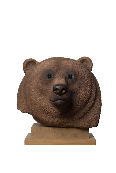 Jean-Marie Fiori, 'Brown Bear Head ', 2013