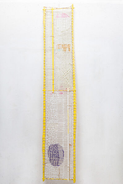 Julius Reichel, 'Time Capsule Yellow Two Stand', 2019