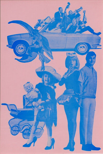 Eduardo Paolozzi, 'Hermaphroditic Children from Transvestite Parents', 1965-1970
