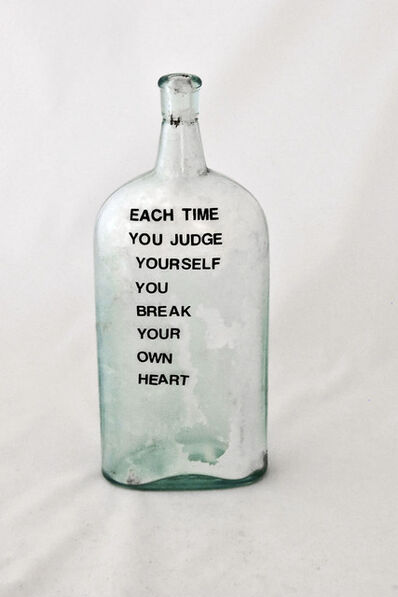 Etta B. Ehrlich, Ph.D., 'Each Time You Judge', 2004