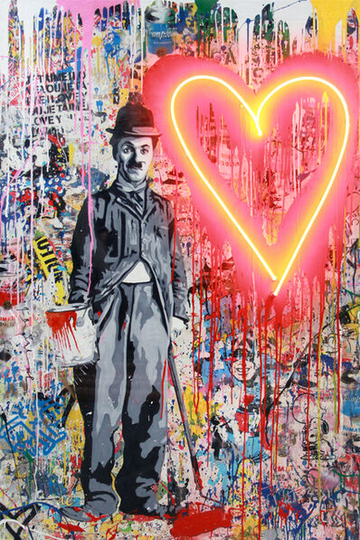 Mr. Brainwash, 'Chaplin', 2019