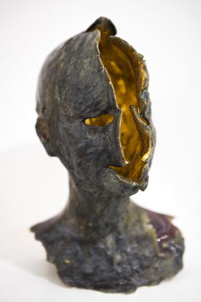 Samuel Yal, 'Nœvus - Tête or', 2016