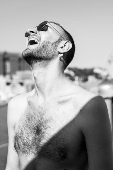 Bryson Rand, 'Simon Laughing (Brooklyn)', 2017