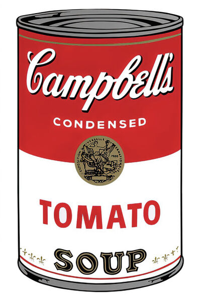 Andy Warhol, 'Campbell's Soup Can 11.46 (Tomato)', 1960s printed after