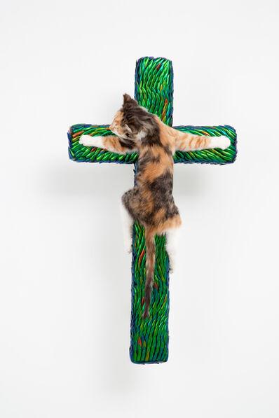 Jan Fabre, 'Cross with Kitten', 2012