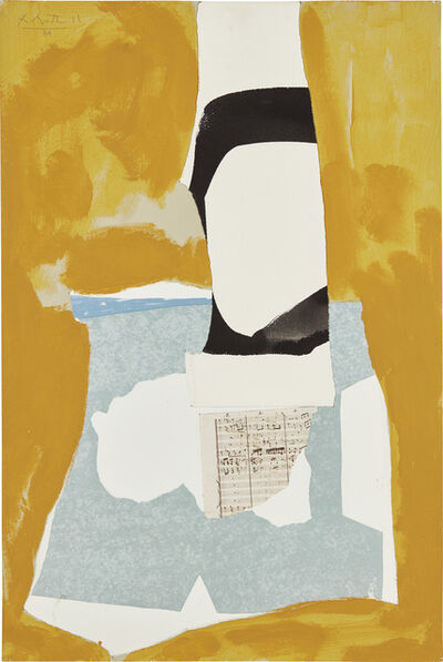 Robert Motherwell, 'Yeats' Tower', 1984